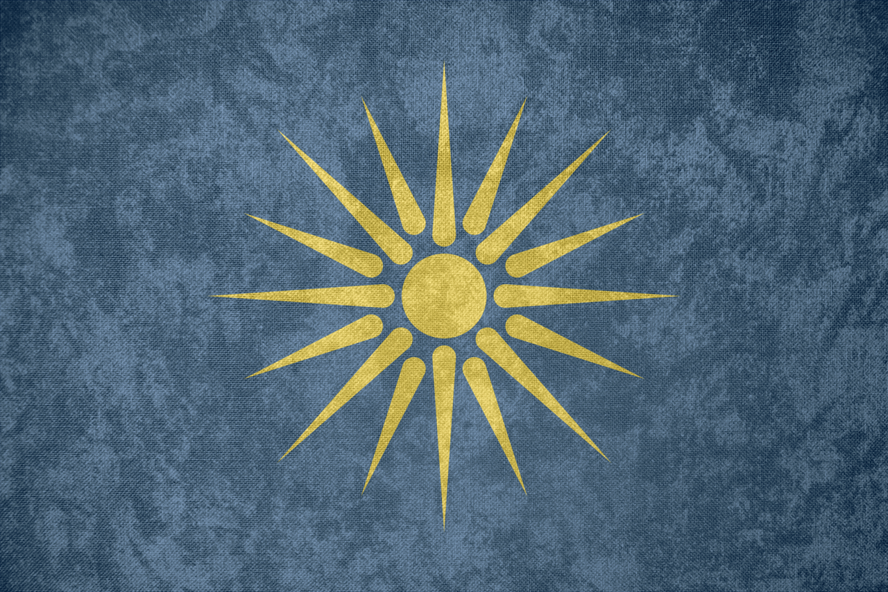 greek macedonia grunge flag by undevicesimus customization wallpaper 1280x854