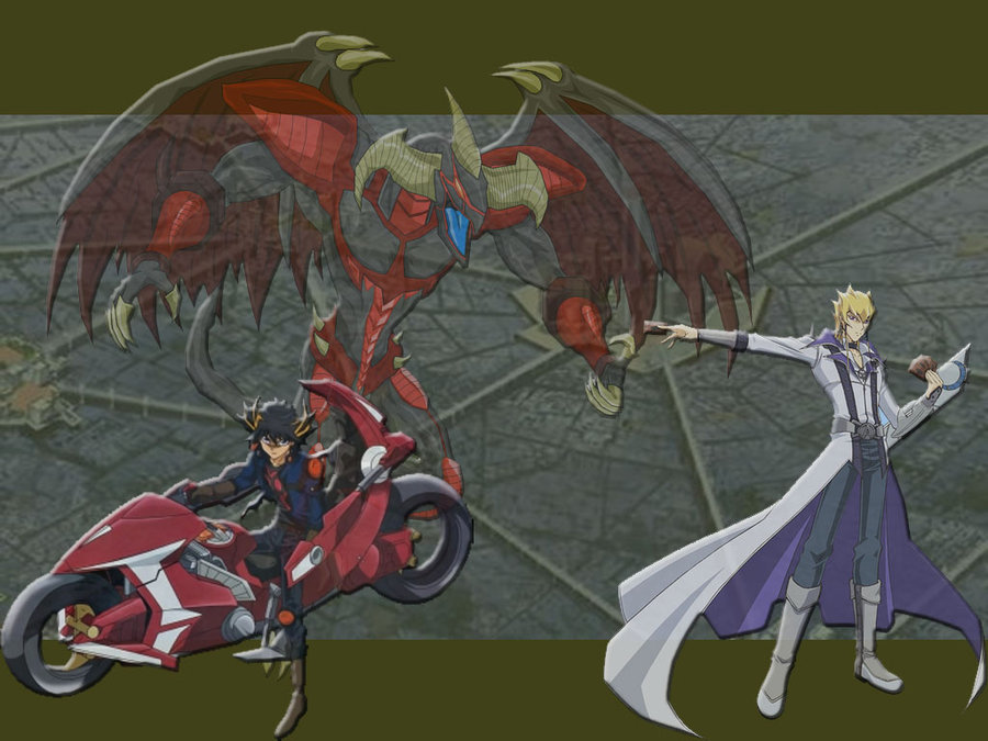 Free download YuGiOh 5ds Wallpaper by ryoga17 [900x675 ...