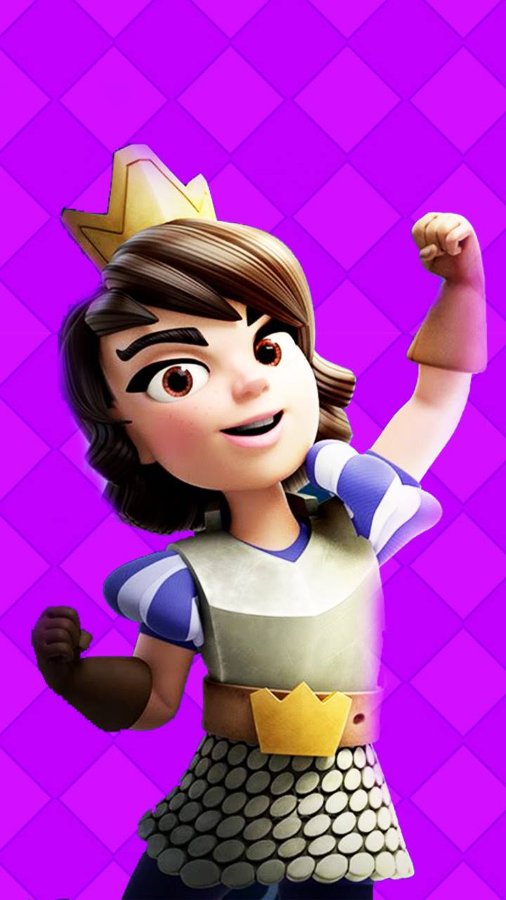 34 Princess Clash Royale Wallpapers On Wallpapersafari