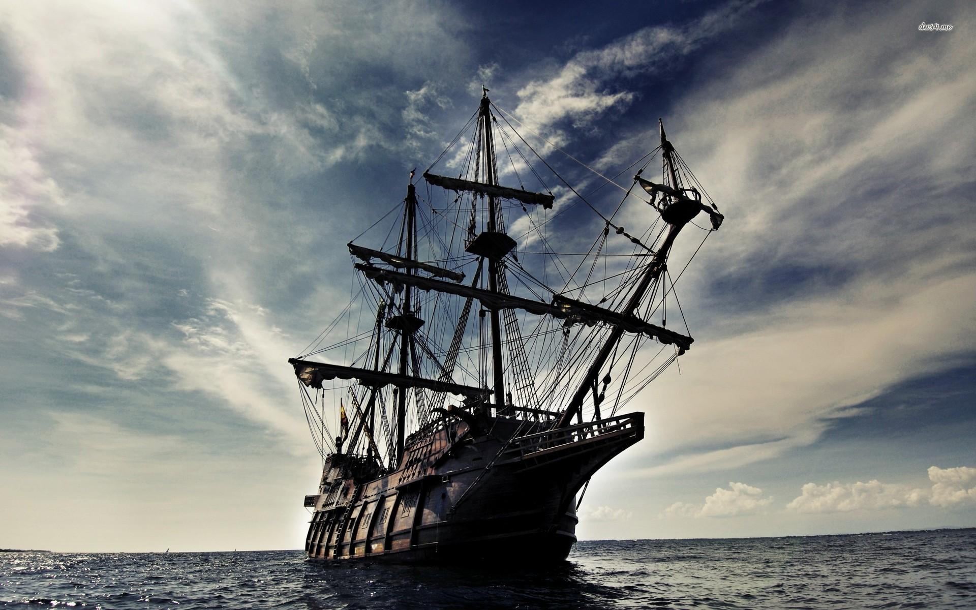 Hd Pirate Ship Wallpaper: The Black Pearl Wallpaper