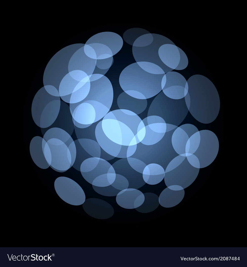 Blue Abstract Light Spot Background Royalty Vector 1000x1080