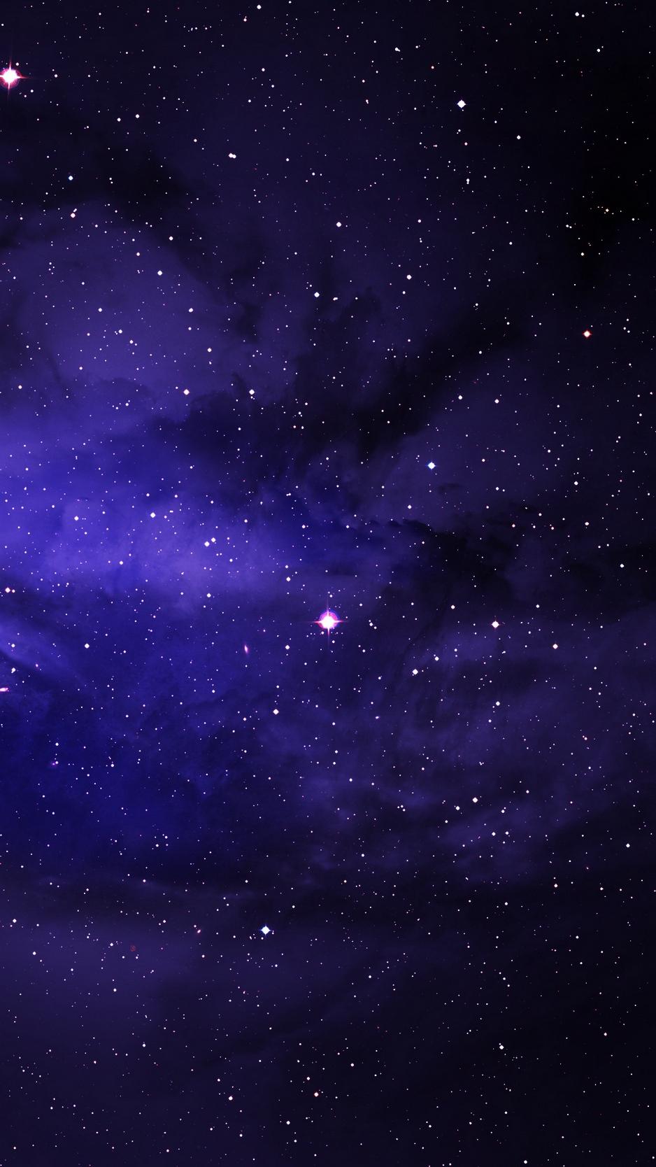 Free Download Download Wallpaper 938x1668 Stars Space Galaxy