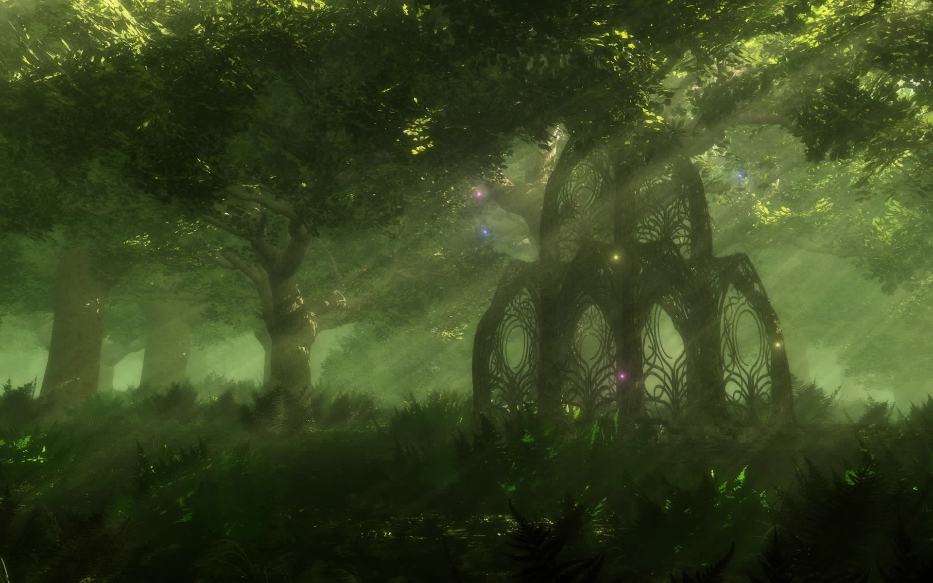 73 anime forest background on wallpapersafari - Anime forest background ...