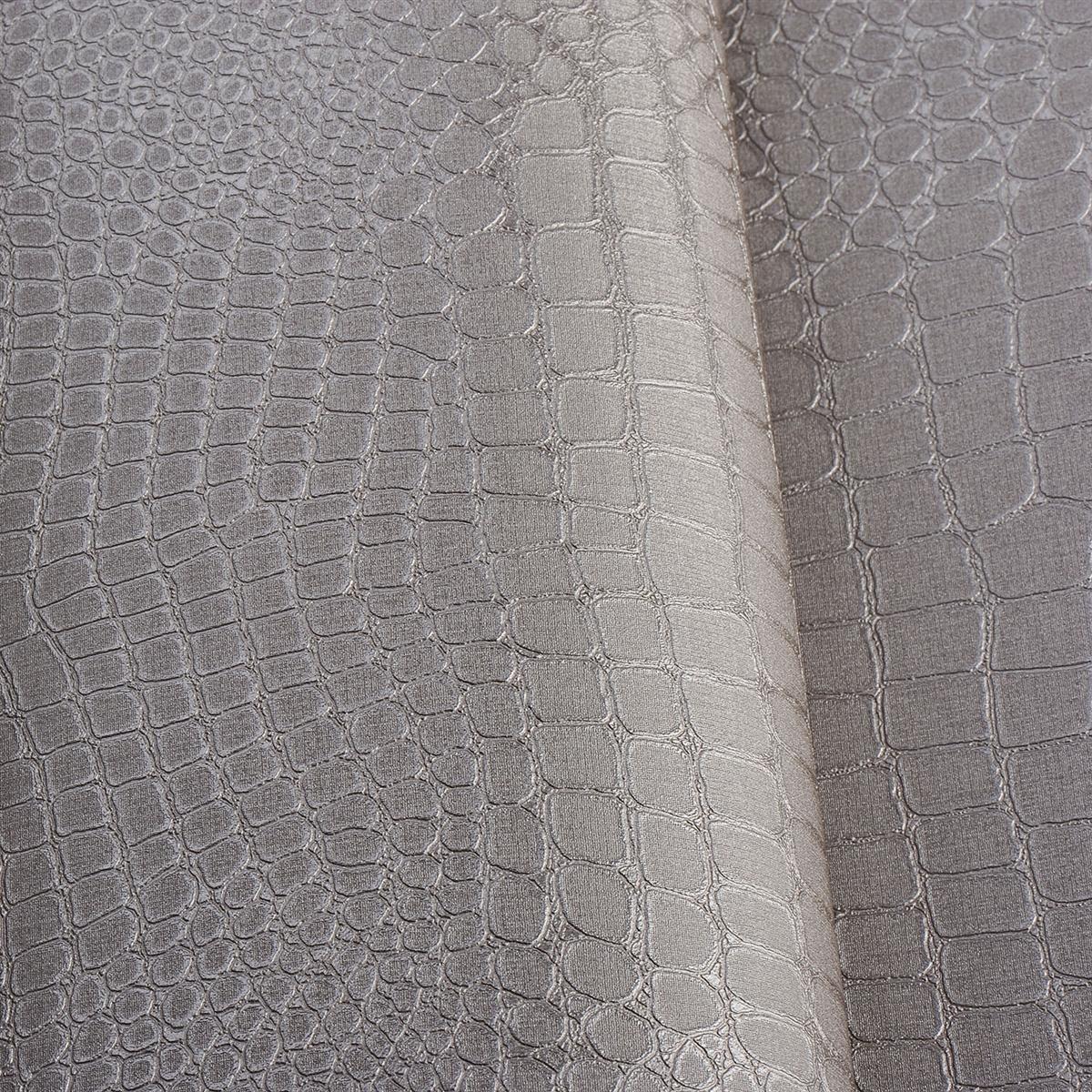 MODERN WALLPAPER ROLLS 10M DAMASK CROCODILE TEXTURED ANIMAL PRINT 1200x1200