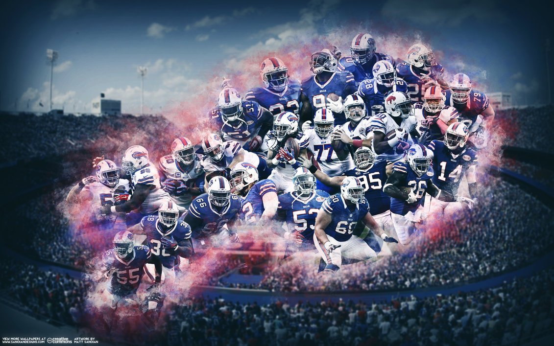 Buffalo Bills Wallpaper by Sanoinoi by sanoinoideviantartcom 1131x707