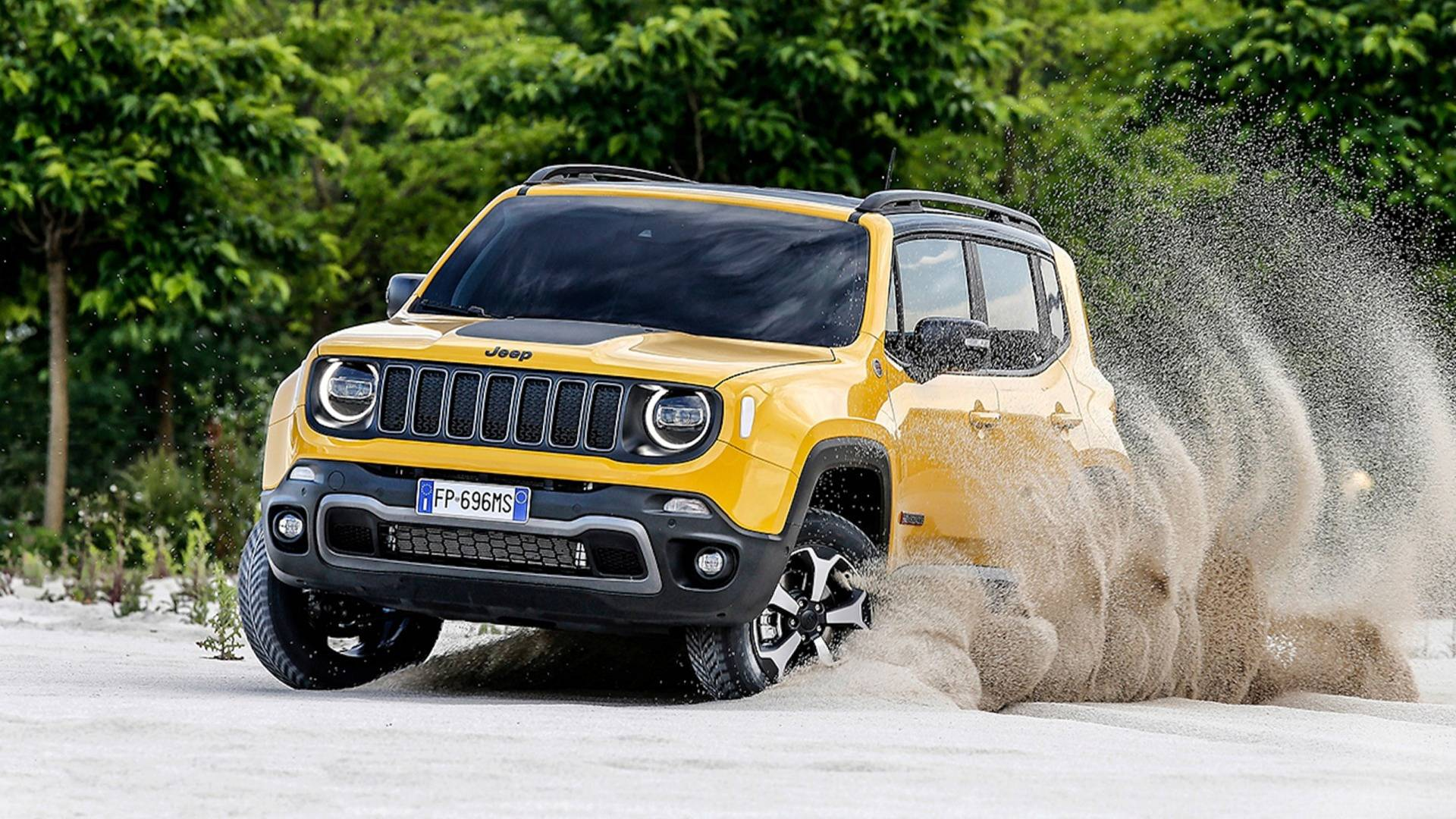 2019 Jeep Renegade Detailed In Full Including Trailhawk Trim 1920x1080