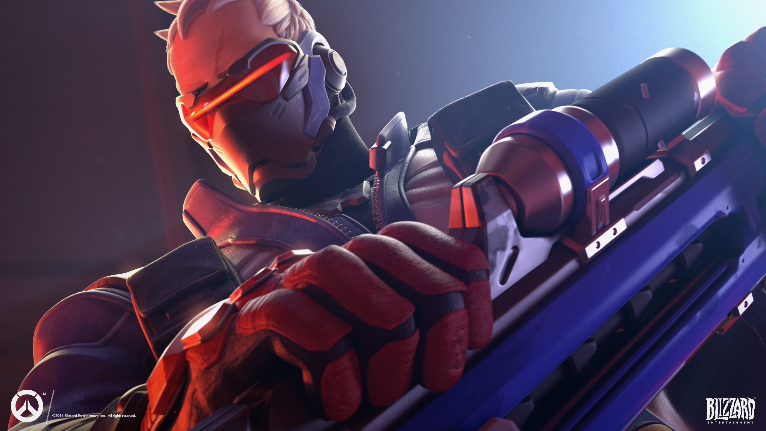 Soldier 76 Overwatch Wallpapers HD Wallpapers 2560x1440