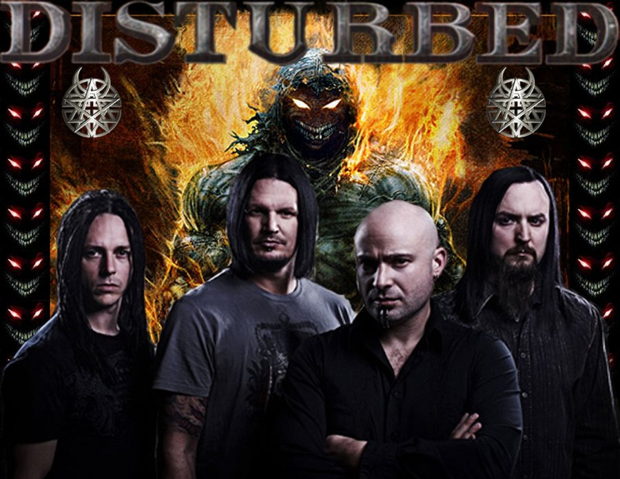 Disturbed Wallpaper by GodzillaRulz 900x695