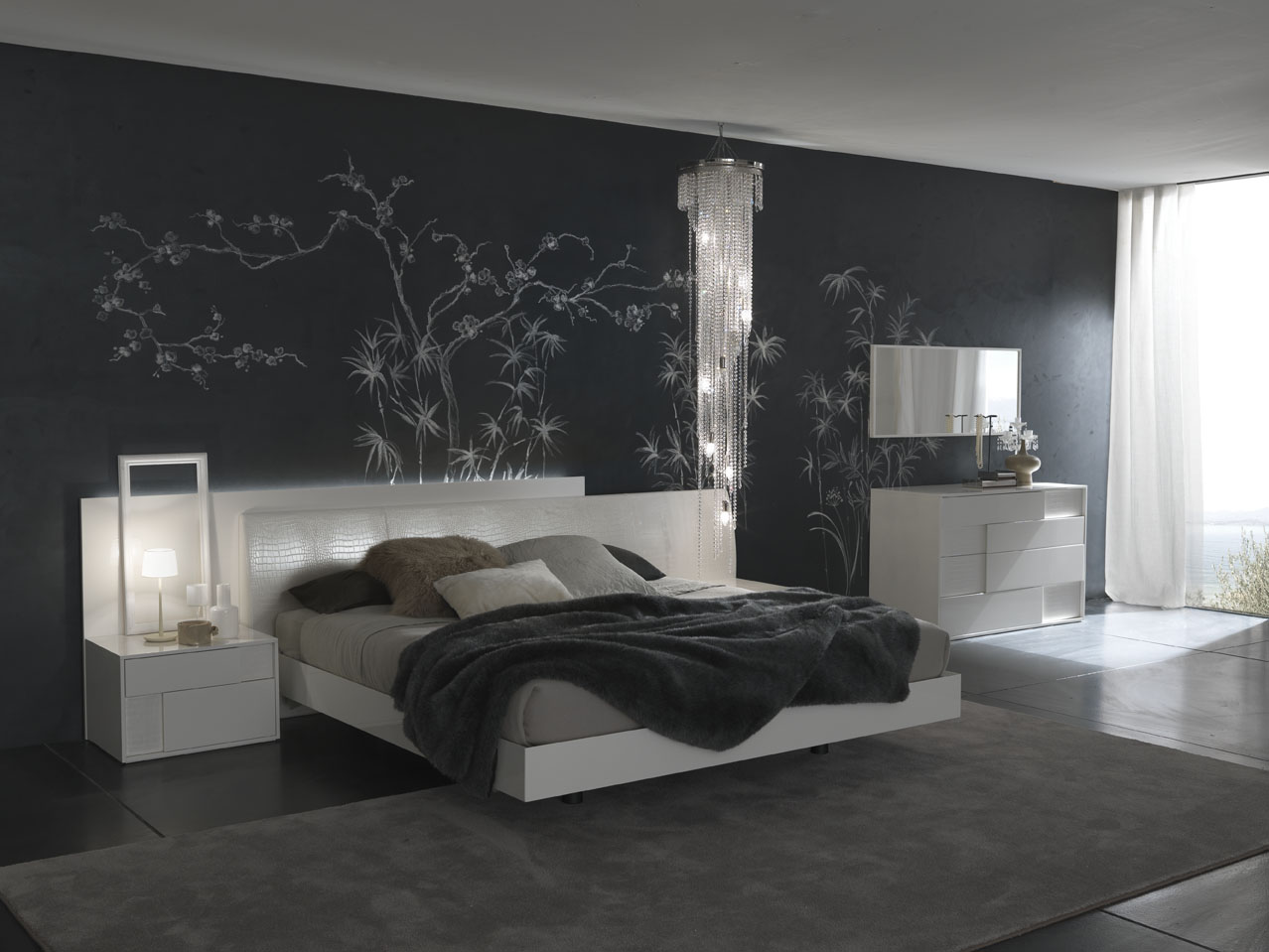 Free Download 2013 Wall Art Bedroom With Gray Accent