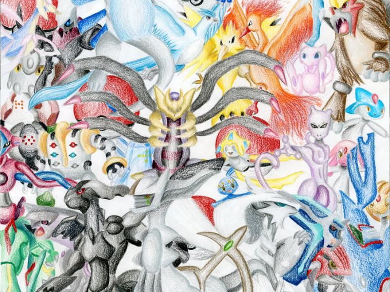 pokemon wallpaper legendary picture pokemon wallpaper all legendary 800x600