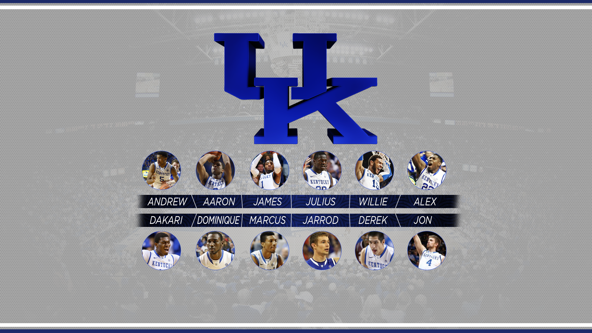 2014 kentucky wildcats desktop wallpaper by branlyle fan art wallpaper 1920x1080