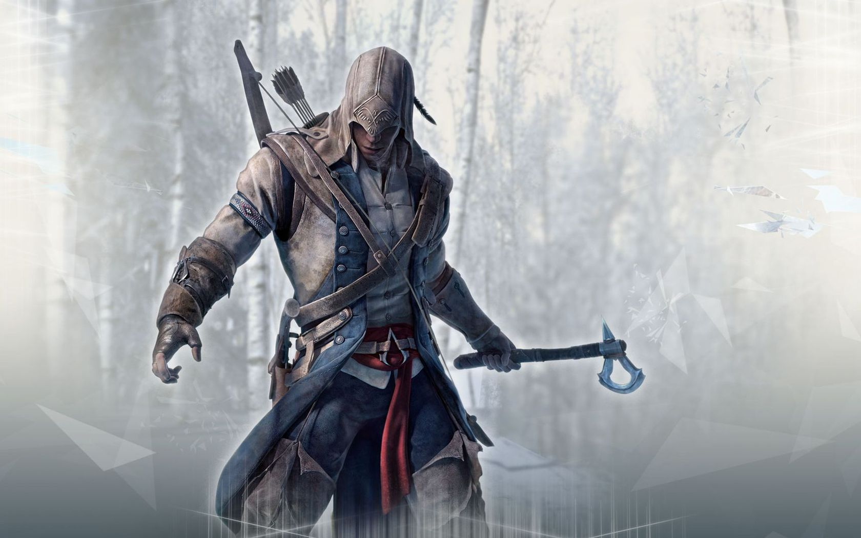Download Connor Kenway   Assassins Creed III wallpaper 1680x1050