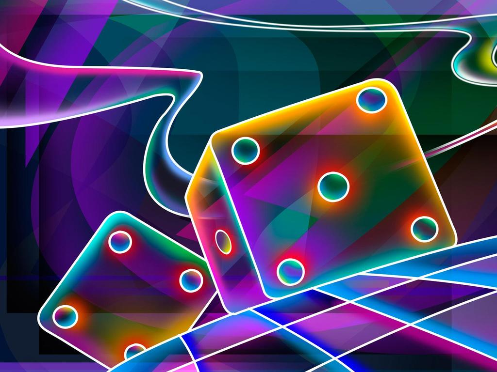 3D Colorful Wallpapers Best Cool Wallpaper 1024x768