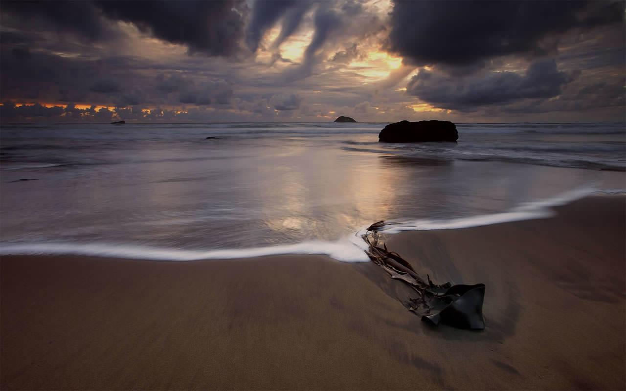 Beach Scene Wallpaper 1280x800