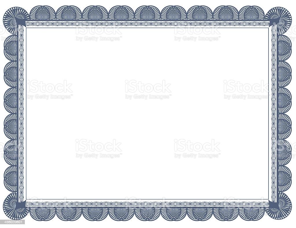 Cyanotype Document Frame 85 X 11 Stock Photo   Download Image Now 1024x791