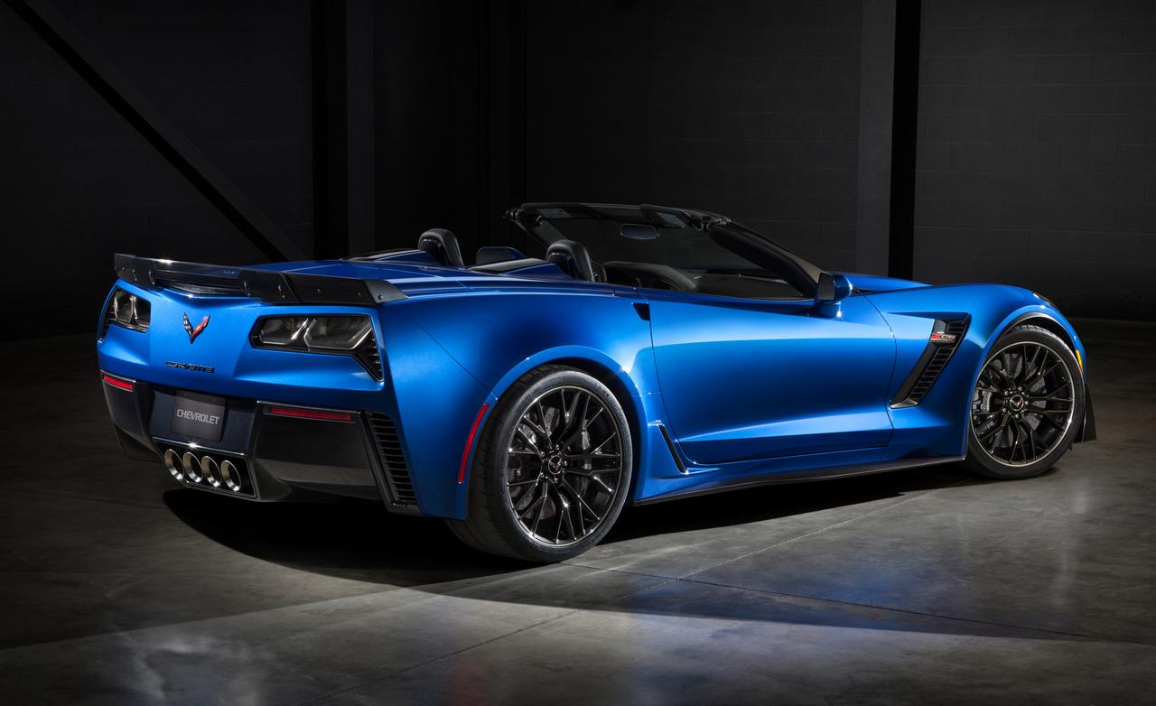 2015 Chevrolet Corvette Z06 convertible 1280x782