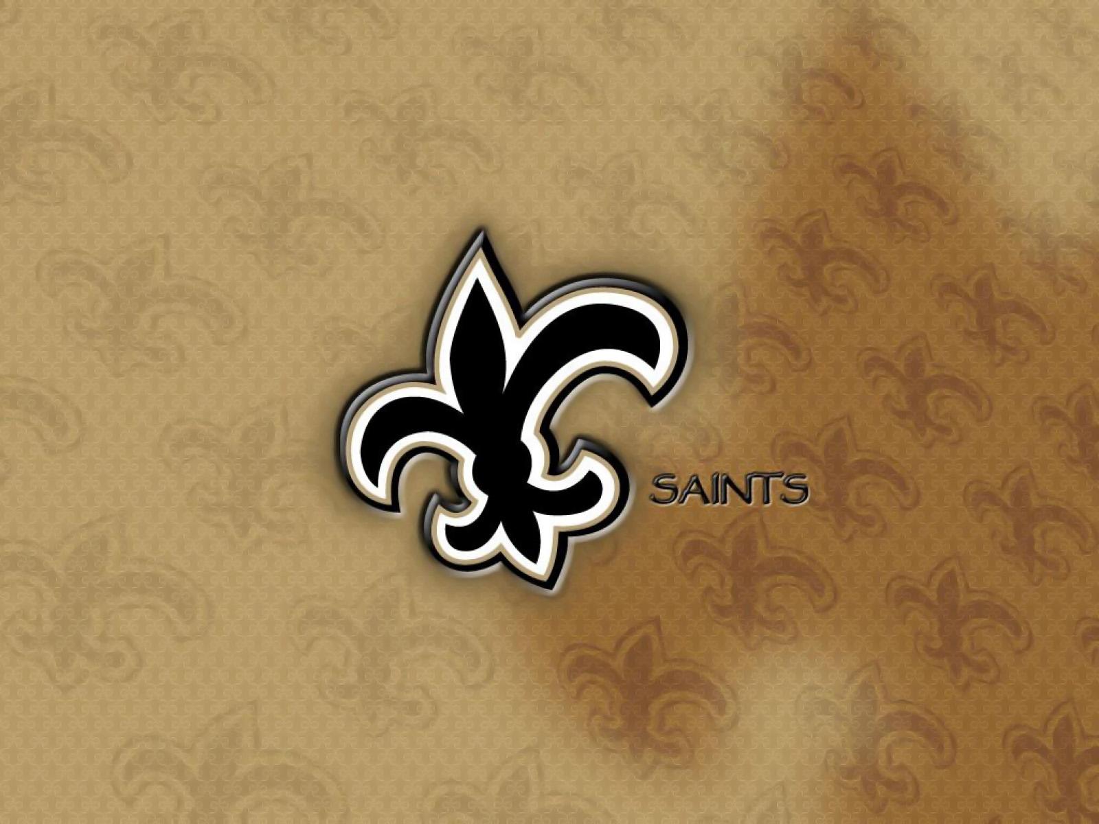 New Orleans Saints Wallpaper Best Logo cute Wallpapers 1600x1200