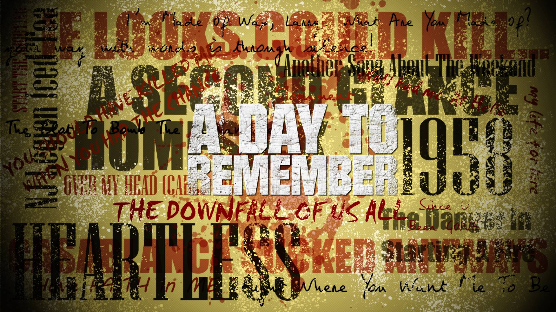 A Day To Remember Wallpapers 1920x1080