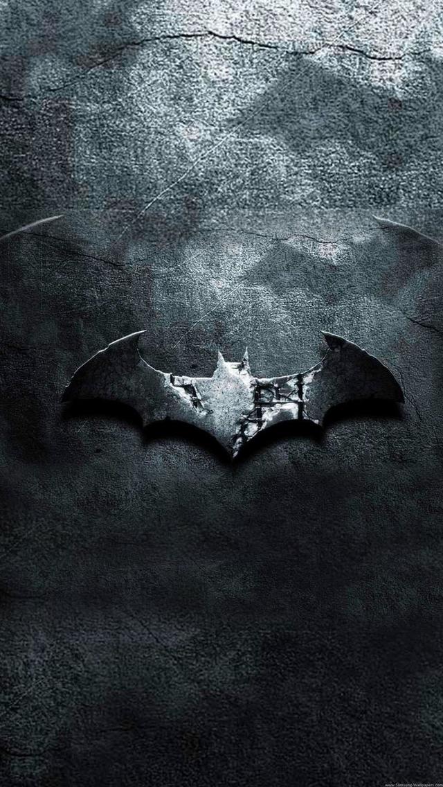 Dark Batman Logo iPhone 6 6 Plus and iPhone 54 Wallpapers 640x1136