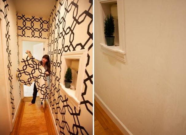 wallpaper coming off wall wallpapersafari. Black Bedroom Furniture Sets. Home Design Ideas