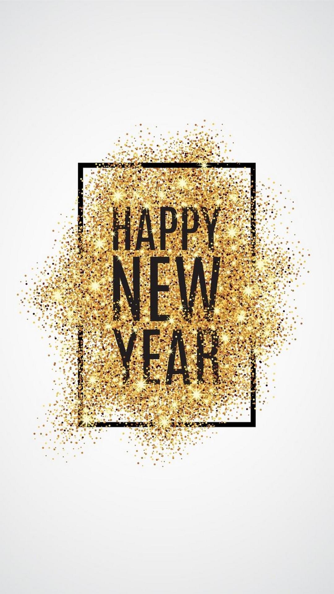 iPhone X Wallpaper Happy New Year 2018 2020 3D iPhone Wallpaper 1080x1920
