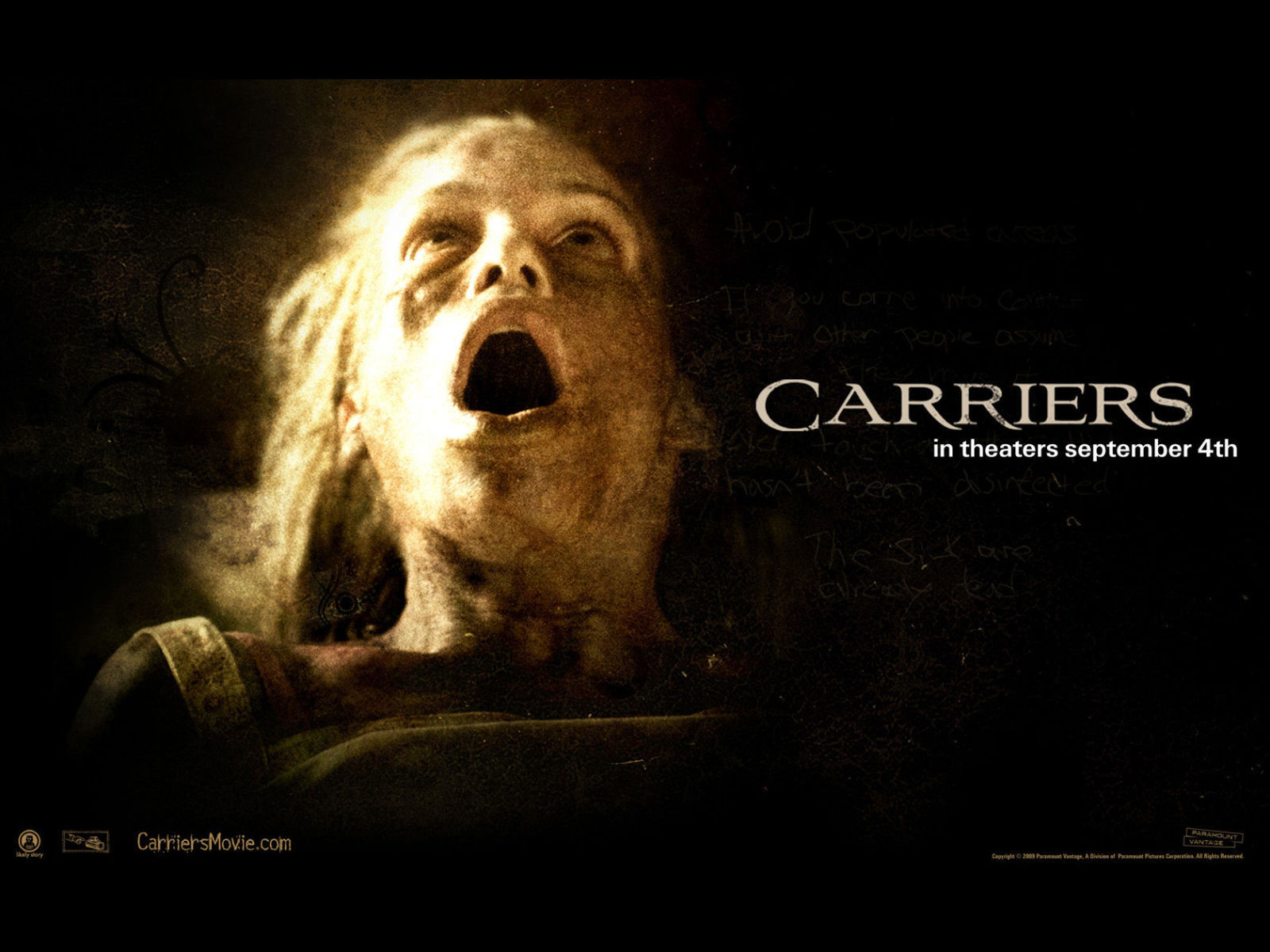 Carriers 2009 wallpapers   Horror Movies Wallpaper 8028048 1600x1200