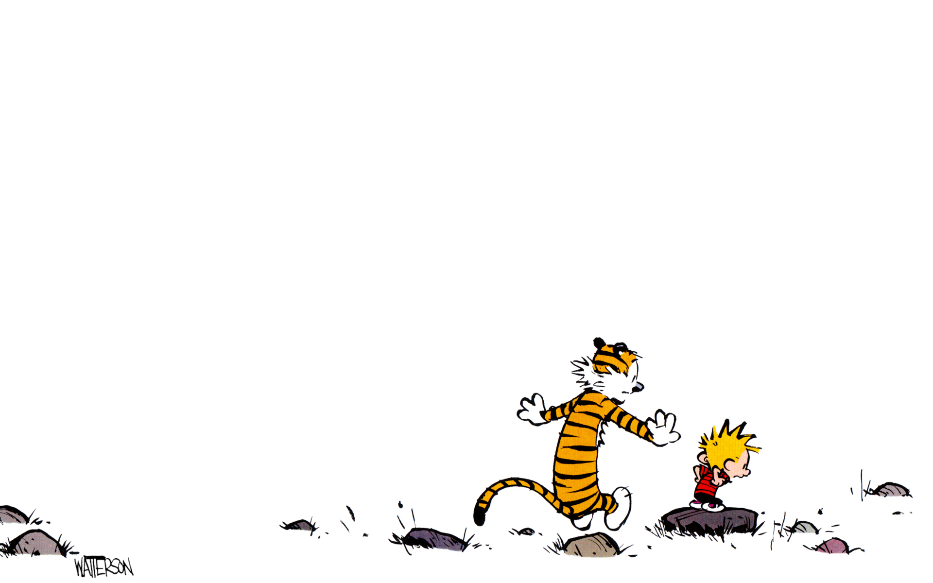 calvin and hobbes HD Wallpaper   General 1002204 1920x1200
