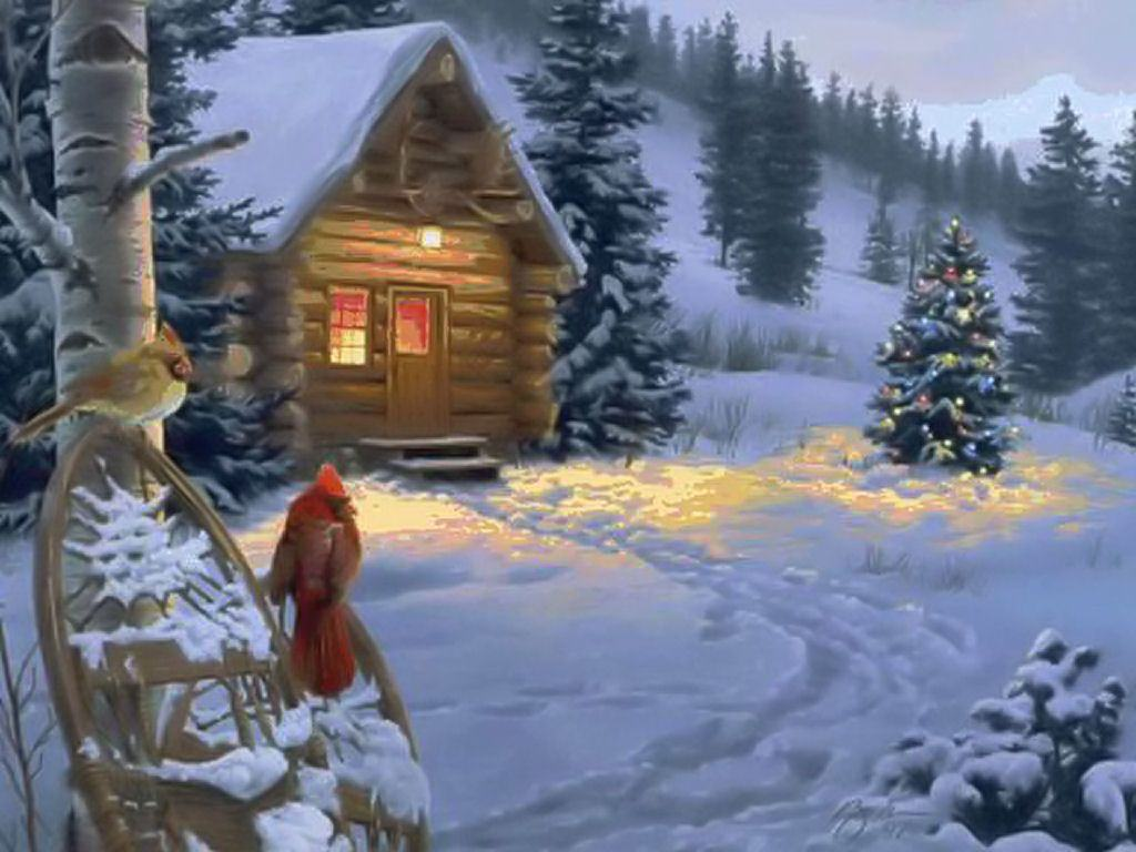 Christmas Country Wallpaper 1024x768 HD Wallpapers Backgrounds 1024x768