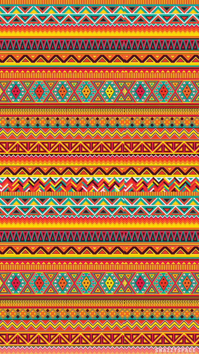 Aztec iPhone Wallpaper 640x1136