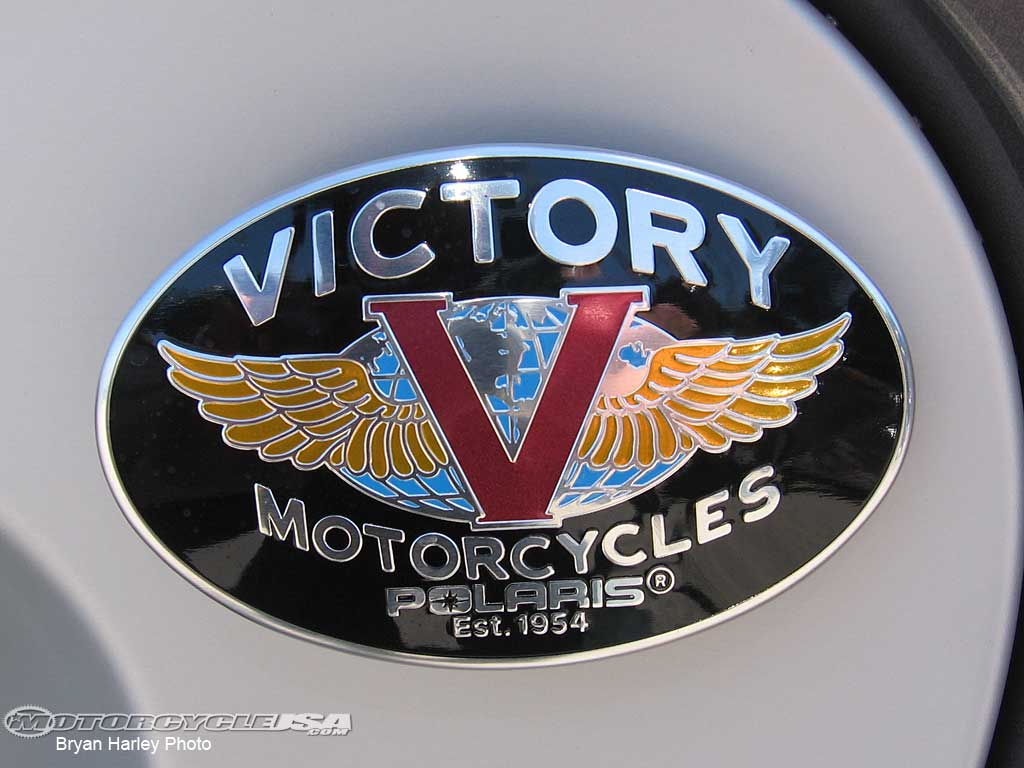 Motorcycle logos 2009 luke van deman - Victory Motorcycles Logo Victory Looks To Stamp Its