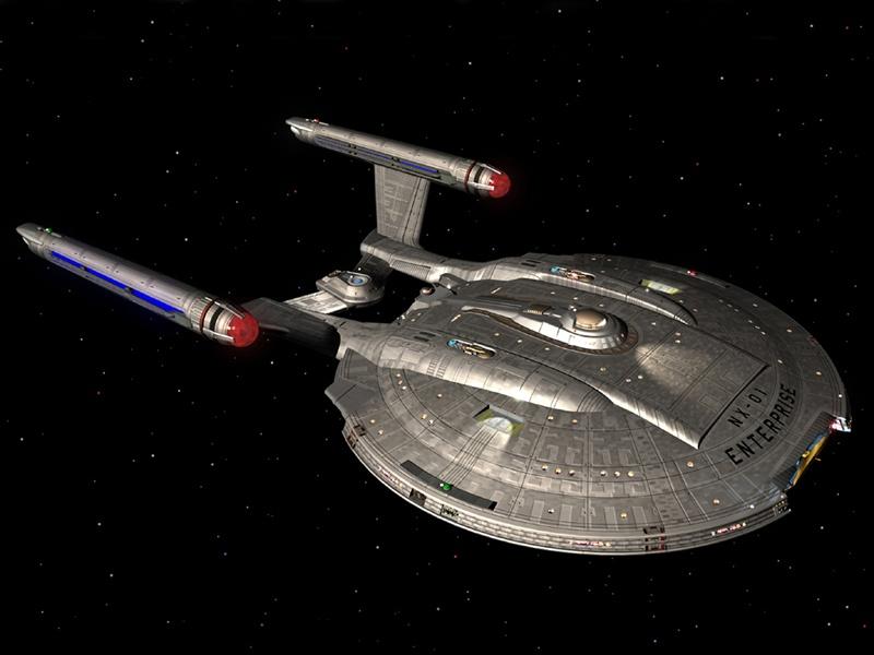 Here is a Star Trek desktop wallpaper picture of the Enterprise NX 01 800x600