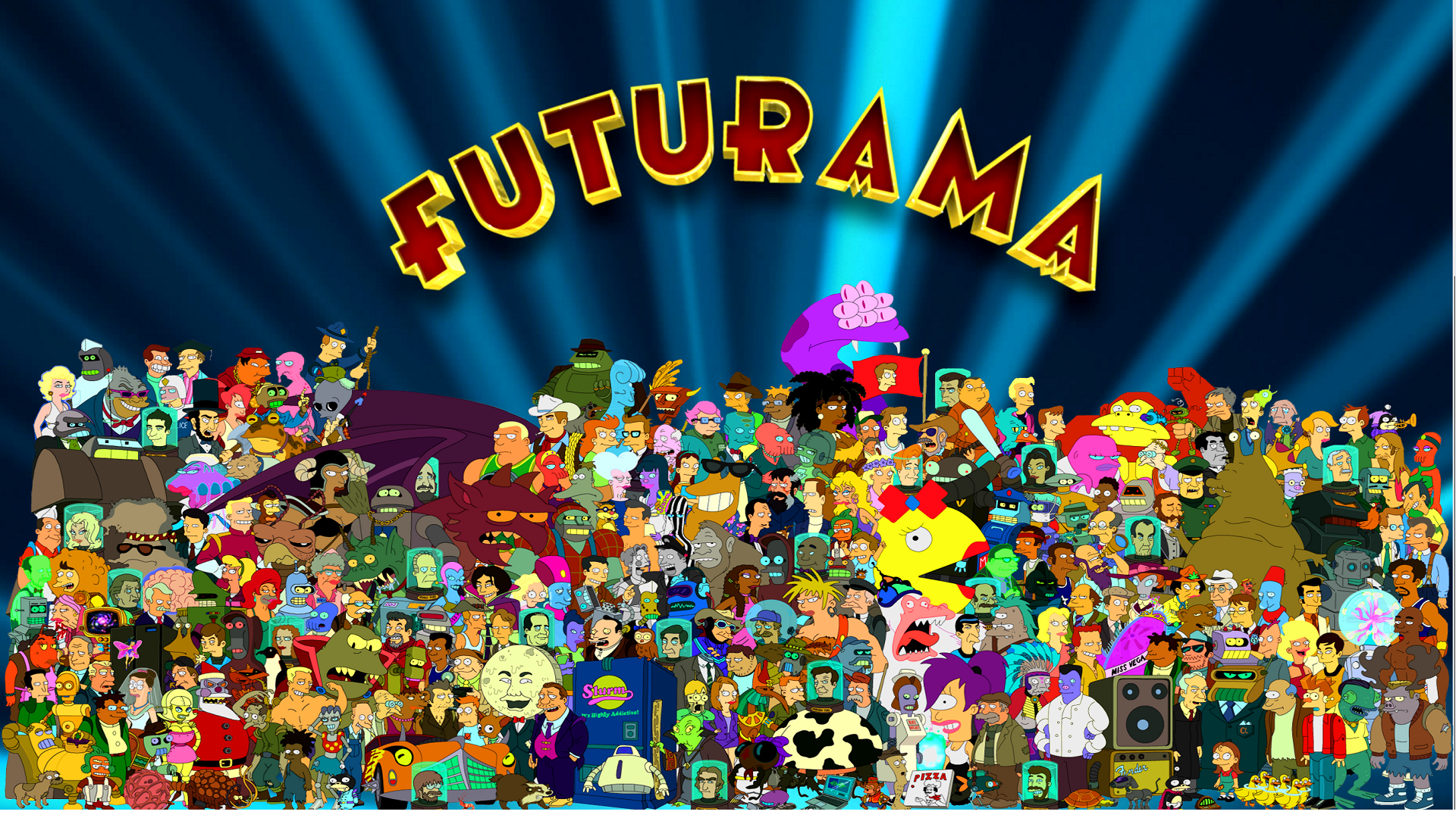 Futurama Desktop Wallpaper