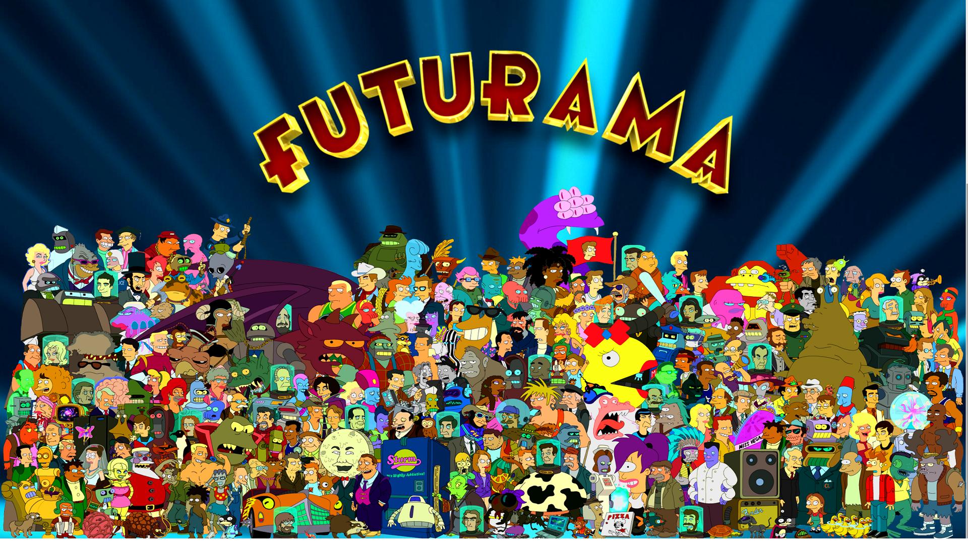 Futurama desktop wallpaper wallpapersafari - Futurama wallpaper ...