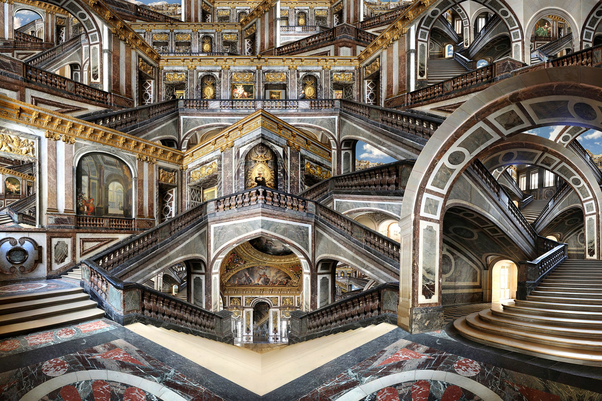 Palace of versailles wallpaper wallpapersafari Palace design