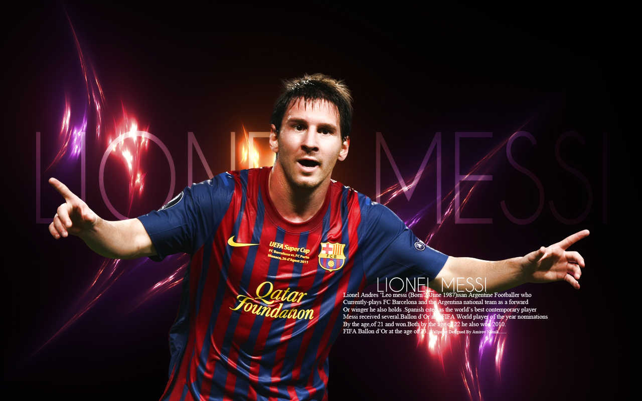 Lionel Messi Latest HD Wallpapers 2012 2013 All About HD 1280x800