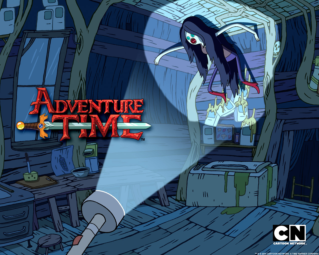 Free Download Marceline Adventure Time With Finn And Jake