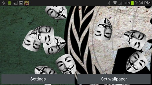 Download image Anonymous Hacker Live Wallpaper PC Android iPhone and 512x288
