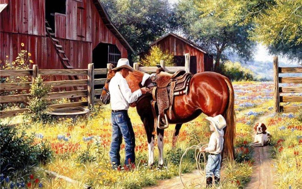 pequeño cowboy wallpaper - ForWallpaper.com