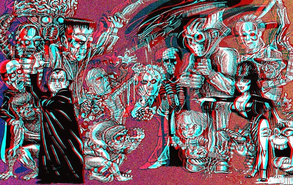 Go Back Gallery For Universal Monsters Wallpaper 1024x647
