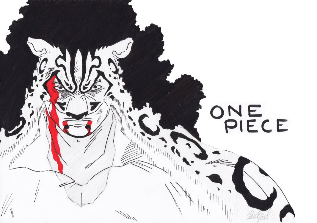 ONE PIECE Rob Lucci by DGoad 1066x749