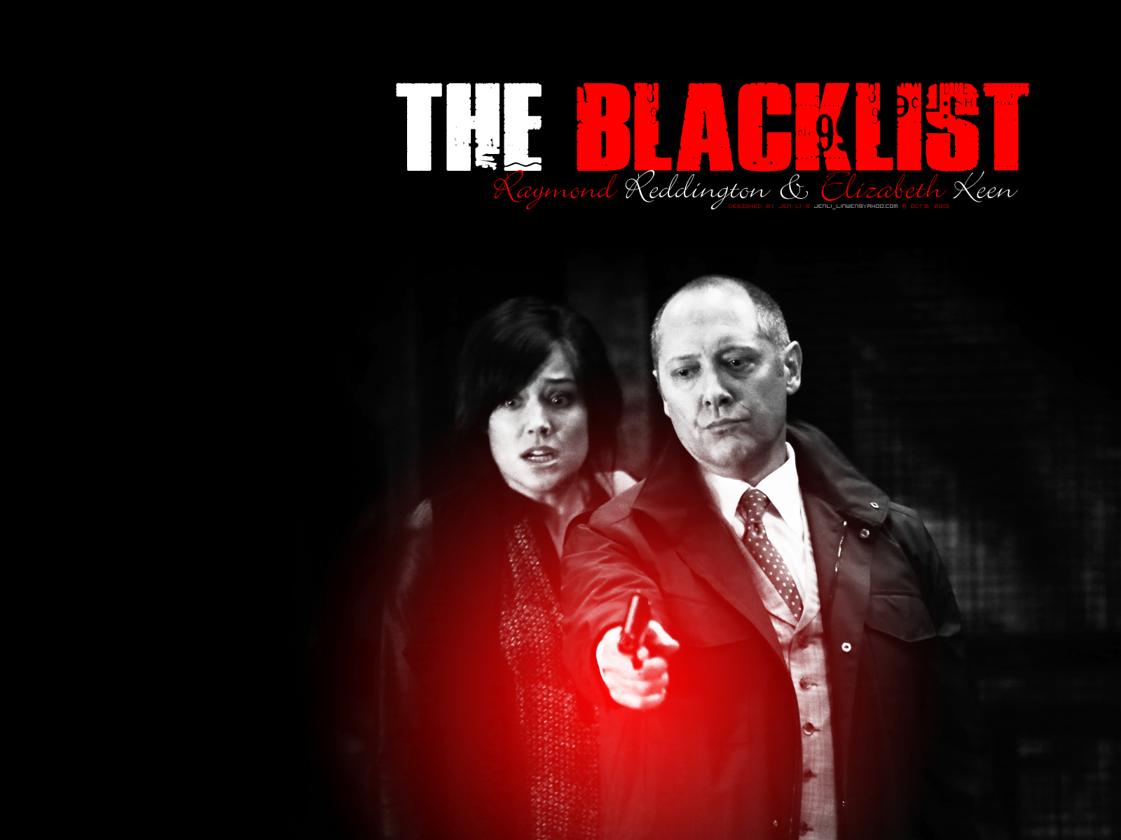 The Blacklist images Reddington and Keen HD wallpaper and background 1600x1200