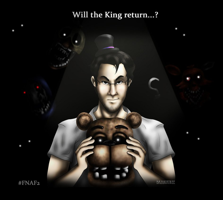 FNAF2 Teaser with Markiplier by BazukaTREE 944x846