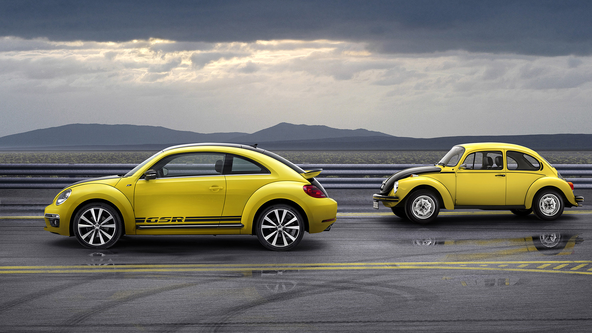 Volkswagen Beetle GSR 2013 Wallpaper   HD 1920x1080