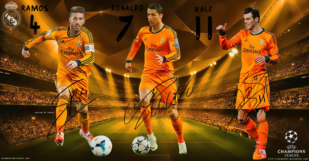 Real Madrid Champions League Wallpaper by jafarjeef 1024x533