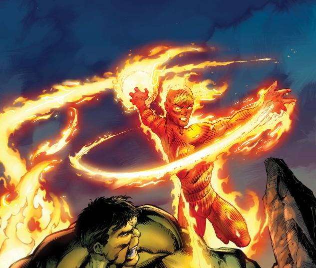 human torch hulk from the marvel vault 2011 1 read sample human torch 633x537
