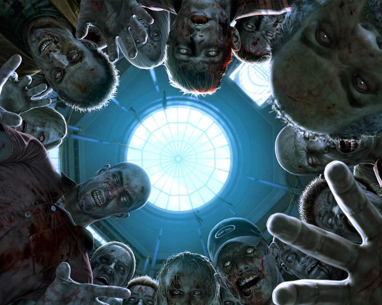 scary zombie wallpapers Scary Wallpapers 1280x1024