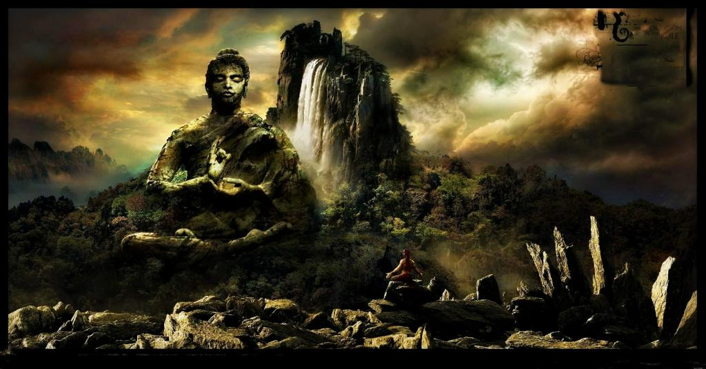 Zen Buddhism Wallpaper Hd Buddha Darshan Pictures 1024x536