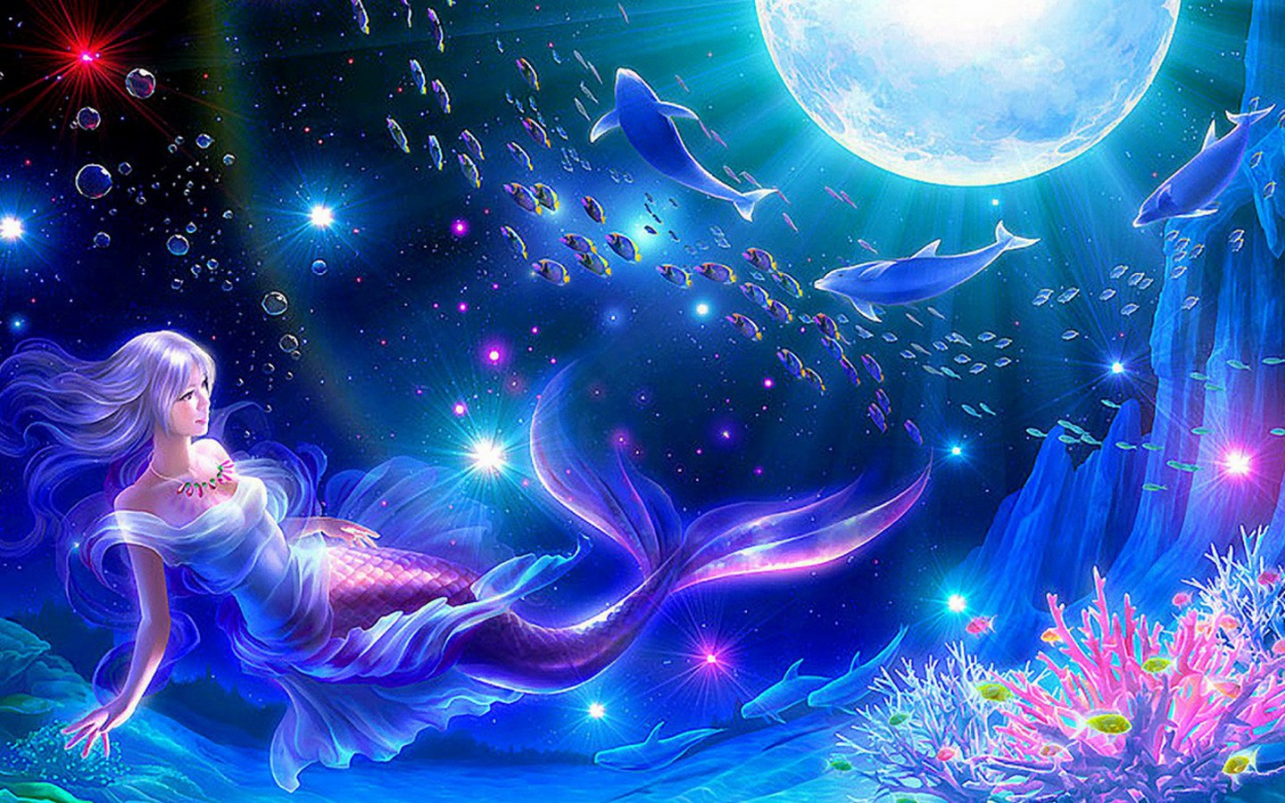 Beautiful Fantasy Girls HQ Wallpapers Download Size 1440x900