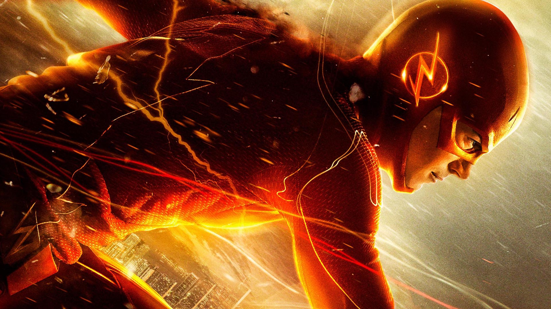 The Flash   Wallpaper   The Flash CW Wallpaper 37862535 1920x1080