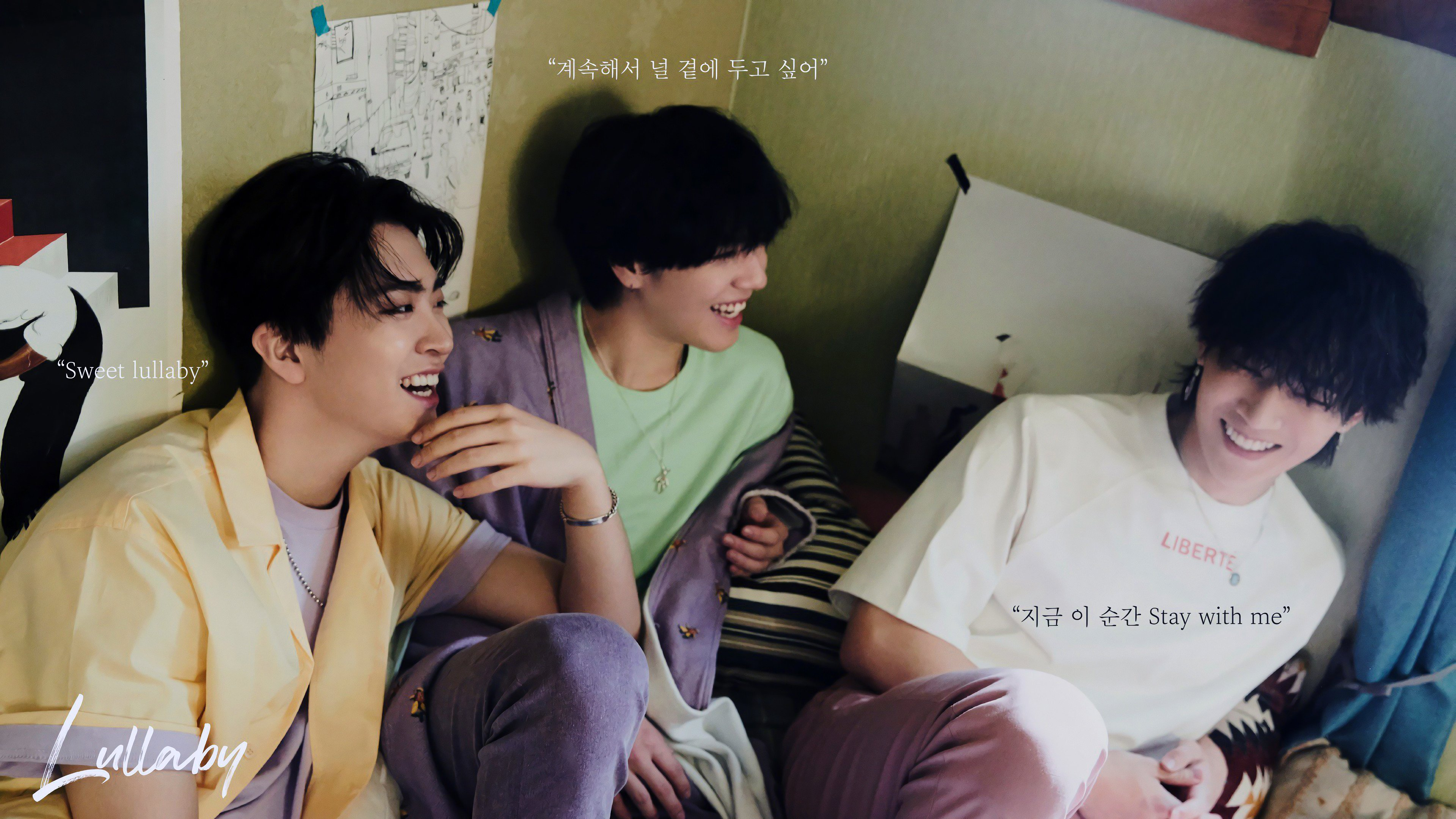 Youngjae Kim Yugyeom JB GOT7 Lullaby Present You 4K 23788 3840x2160